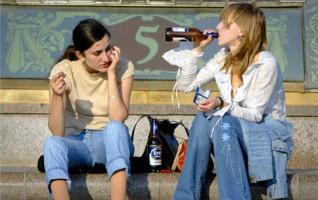 Пьянство в общественных местах